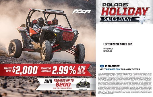 holiday event rzr